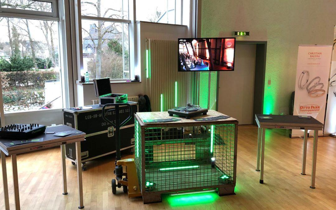 Trefft Euren DJ auf der Hochzeitsmesse in Gießen, Romrod oder Weilburg